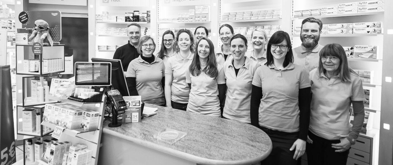 Das Team der Apotheke Marienbrunn